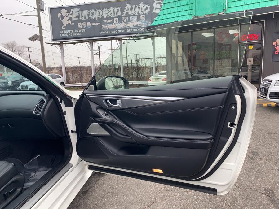 Used INFINITI Q60 3.0t Premium AWD 2017 | European Auto Expo. Lodi, New Jersey