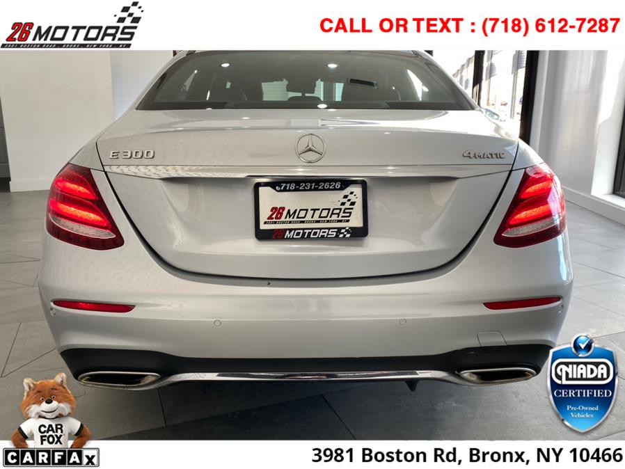 Used Mercedes-Benz E-Class ///AMG Package E300 Sport 4MATIC Sedan 2017 | 52Motors Corp. Woodside, New York