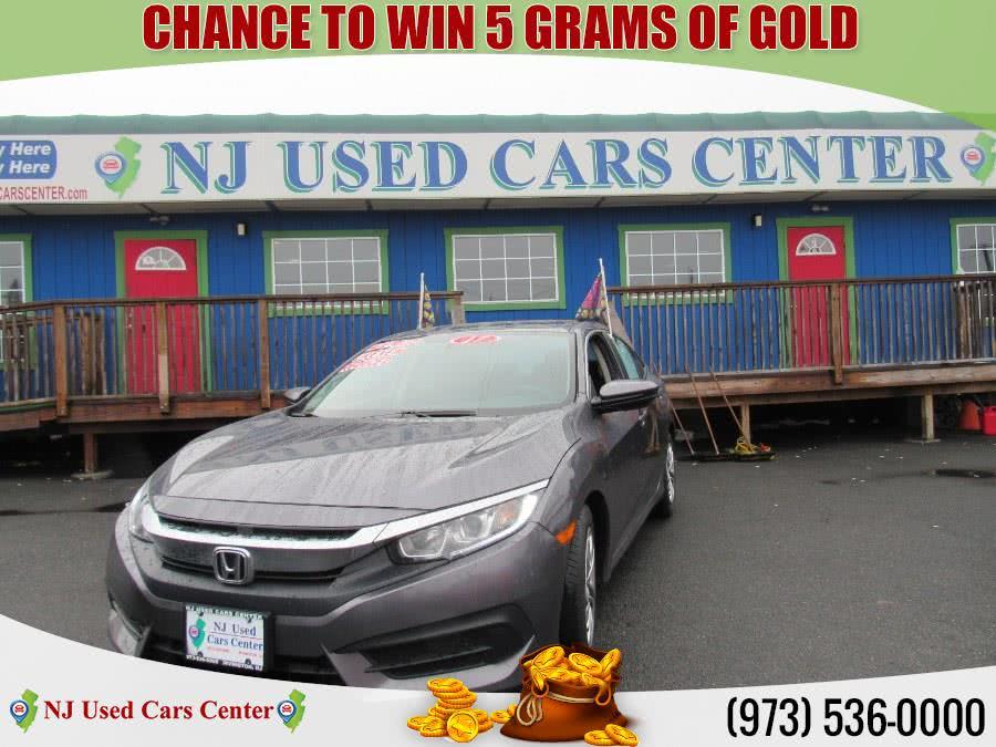 Used 2017 Honda Civic Sedan in Irvington, New Jersey   NJ Used Cars Center. Irvington, New Jersey