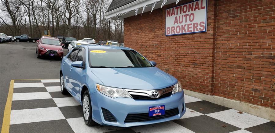 Used Toyota Camry 4dr Sdn Auto LE 2012 | National Auto Brokers, Inc.. Waterbury, Connecticut