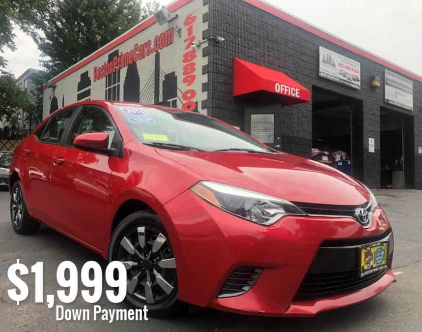 Used Toyota Corolla 4dr Sdn CVT S 2015 | Boston Prime Cars Inc. Chelsea, Massachusetts