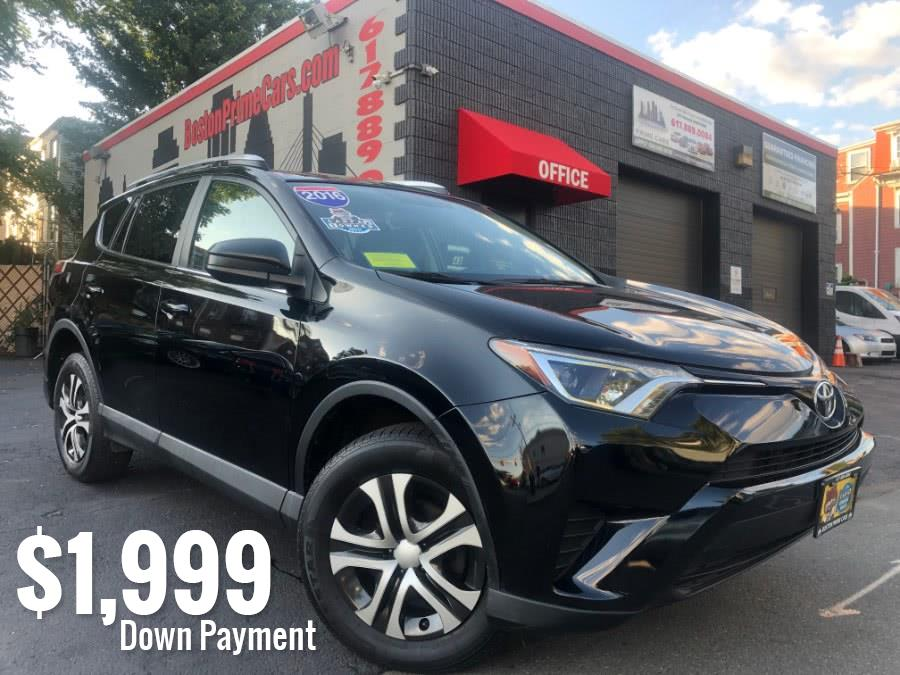 2016 Toyota RAV4 AWD 4dr LE (Natl), available for sale in Chelsea, Massachusetts   Boston Prime Cars Inc. Chelsea, Massachusetts