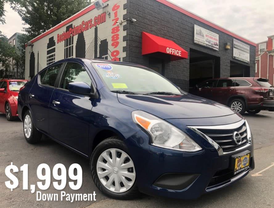 Used Nissan Versa Sedan SV CVT 2019 | Boston Prime Cars Inc. Chelsea, Massachusetts