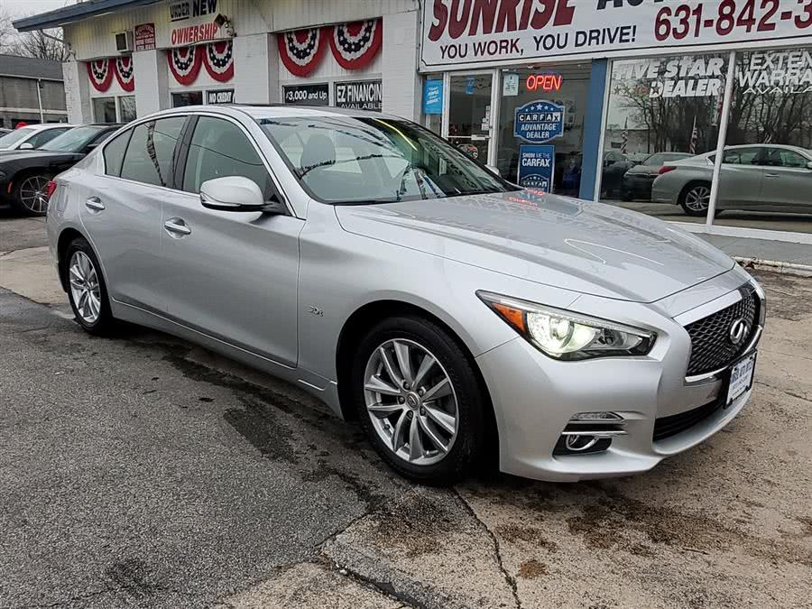 Used 2016 Infiniti Q50 in Amityville, New York | Sunrise Auto Outlet. Amityville, New York