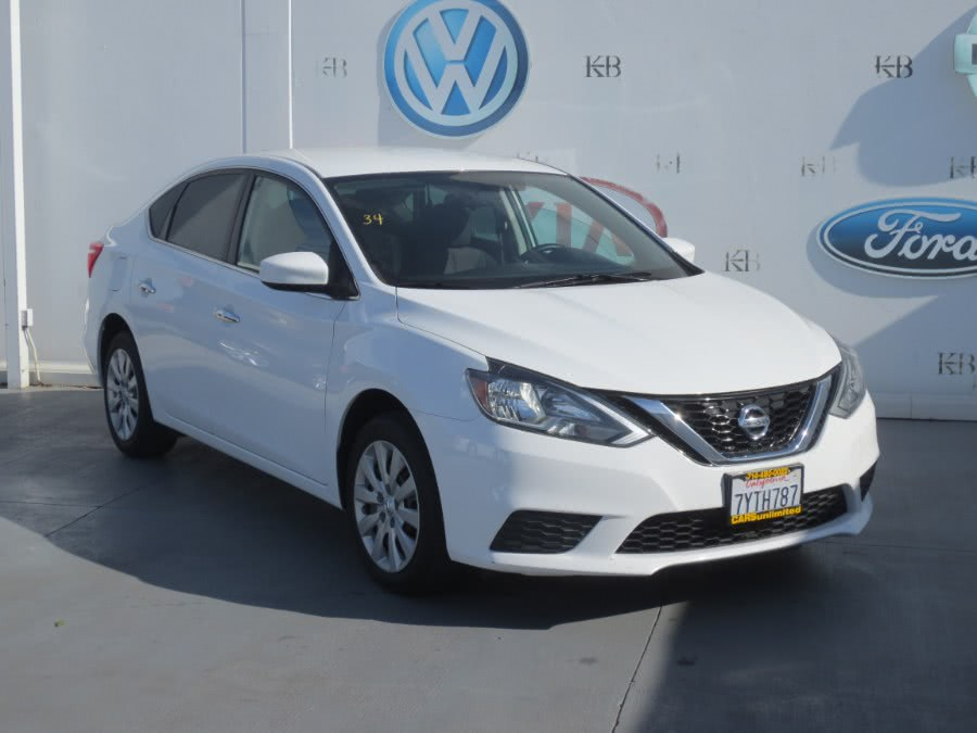 2017 Nissan Sentra SV CVT, available for sale in Santa Ana, California | Auto Max Of Santa Ana. Santa Ana, California