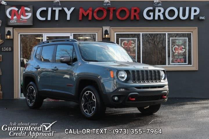 Used Jeep Renegade Trailhawk 2016 | City Motor Group Inc.. Haskell, New Jersey