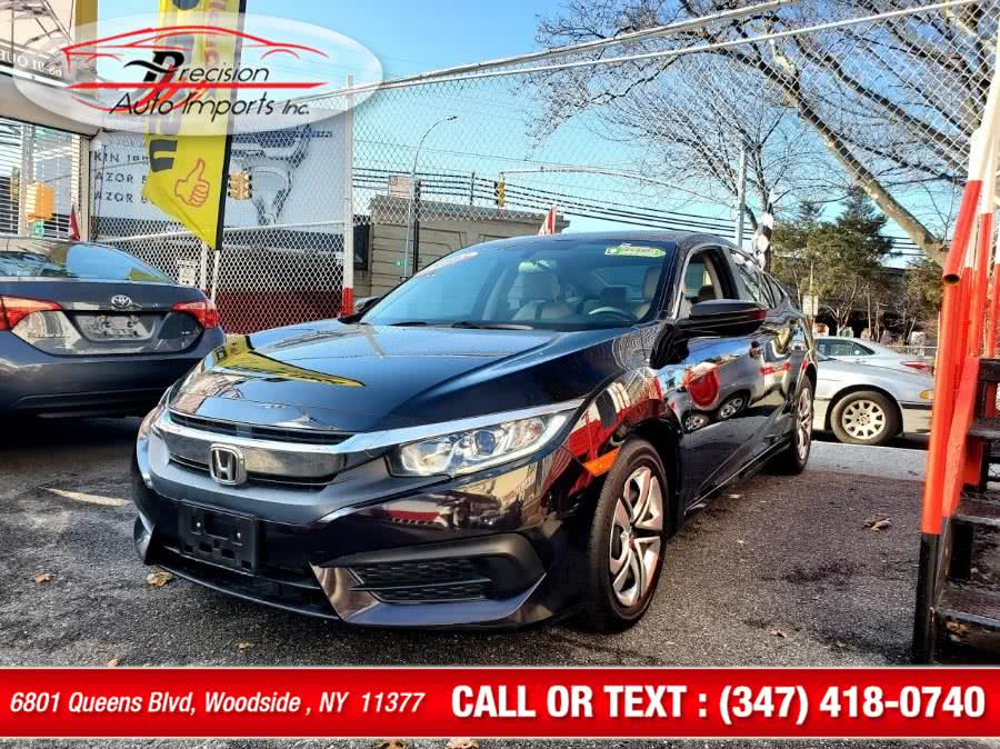 Used 2016 Honda Civic Sedan in Woodside , New York | Precision Auto Imports Inc. Woodside , New York