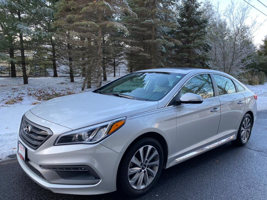 2016 Hyundai Sonata 4dr Sdn Sport, available for sale in Canton , Connecticut | Bach Motor Cars. Canton , Connecticut