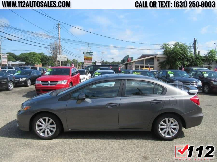 2012 Honda Civic Sdn 4dr Auto EX-L, available for sale in Patchogue, New York | 112 Auto Sales. Patchogue, New York