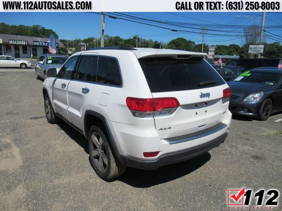 Used Jeep Grand Cherokee 4WD 4dr Limited 2015 | 112 Auto Sales. Patchogue, New York