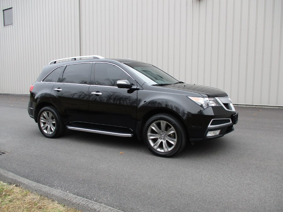 2012 Acura MDX AWD 4dr Advance/Entertainment Pkg, available for sale in Danbury, Connecticut | Performance Imports. Danbury, Connecticut