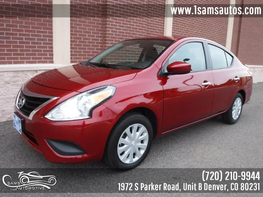 Used 2018 Nissan Versa Sedan in Denver, Colorado | Sam's Automotive. Denver, Colorado