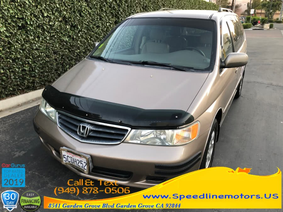 Used 2003 Honda Odyssey in Garden Grove, California | Speedline Motors. Garden Grove, California