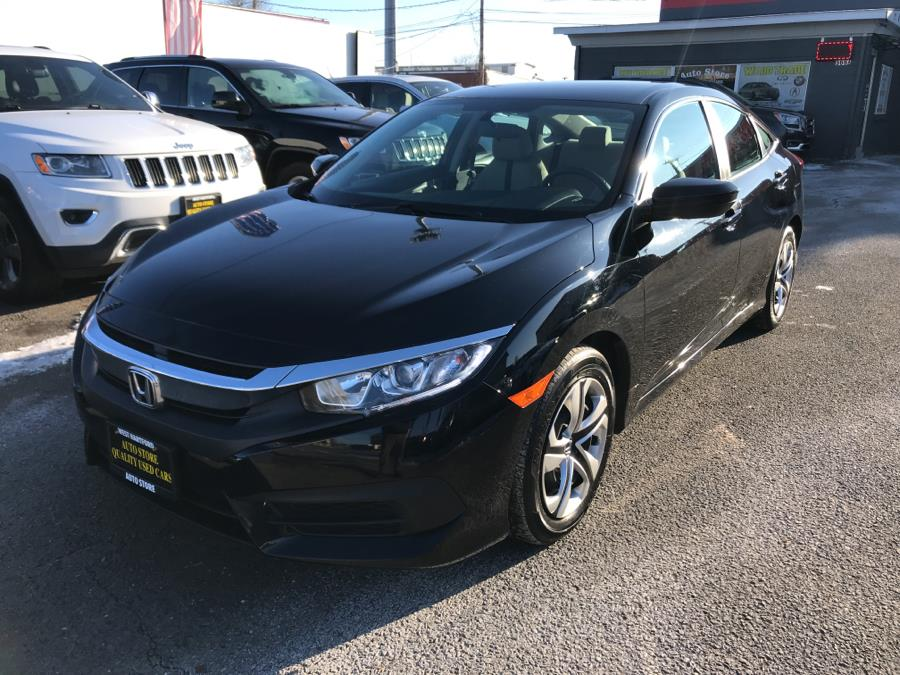 2016 Honda Civic Sedan 4dr CVT LX, available for sale in West Hartford, Connecticut | Auto Store. West Hartford, Connecticut