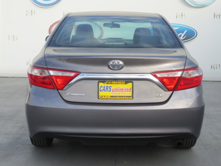 2015 Toyota Camry 4dr Sdn I4 Auto LE (Natl), available for sale in Santa Ana, California | Auto Max Of Santa Ana. Santa Ana, California