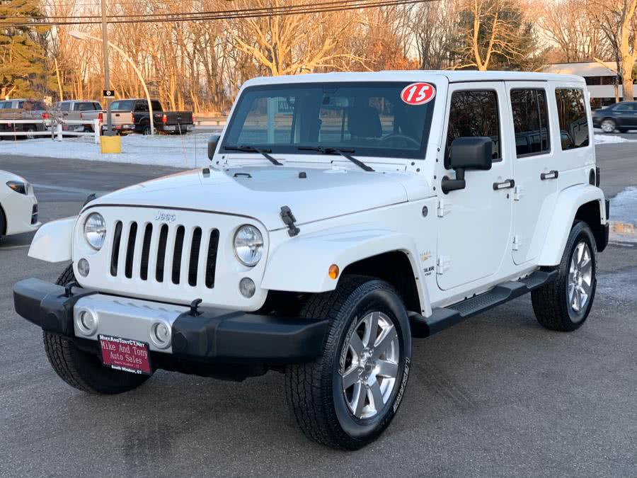 Used 2015 Jeep Wrangler Unlimited in South Windsor, Connecticut | Mike And Tony Auto Sales, Inc. South Windsor, Connecticut