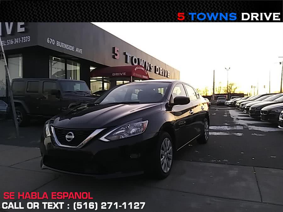 2018 Nissan Sentra S CVT, available for sale in Inwood, NY