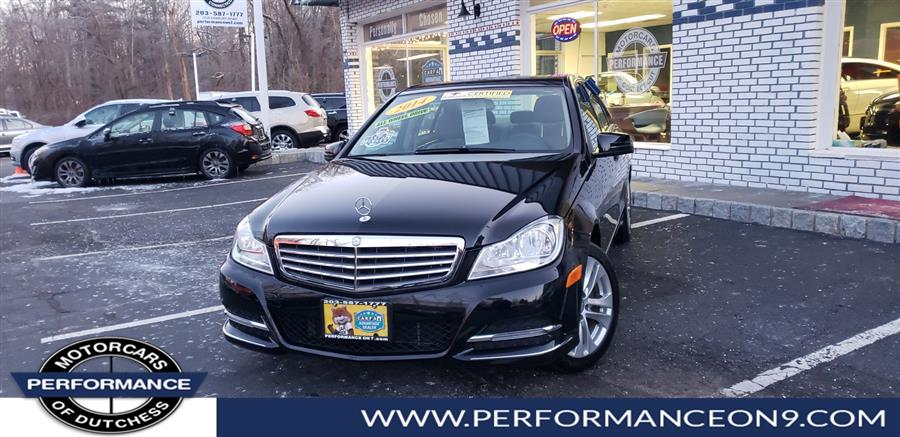 2014 Mercedes-Benz C-Class 4dr Sdn C300 Luxury 4MATIC, available for sale in Wappingers Falls, New York | Performance Motorcars Inc. Wappingers Falls, New York