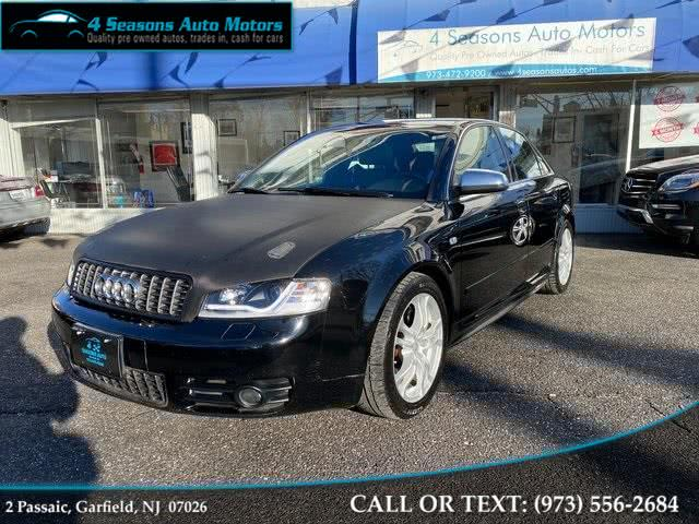 Used 2005 Audi S4 in Garfield, New Jersey | 4 Seasons Auto Motors. Garfield, New Jersey