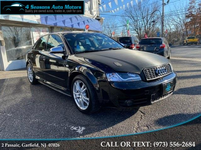2005 Audi S4 4.2, available for sale in Garfield, New Jersey | 4 Seasons Auto Motors. Garfield, New Jersey