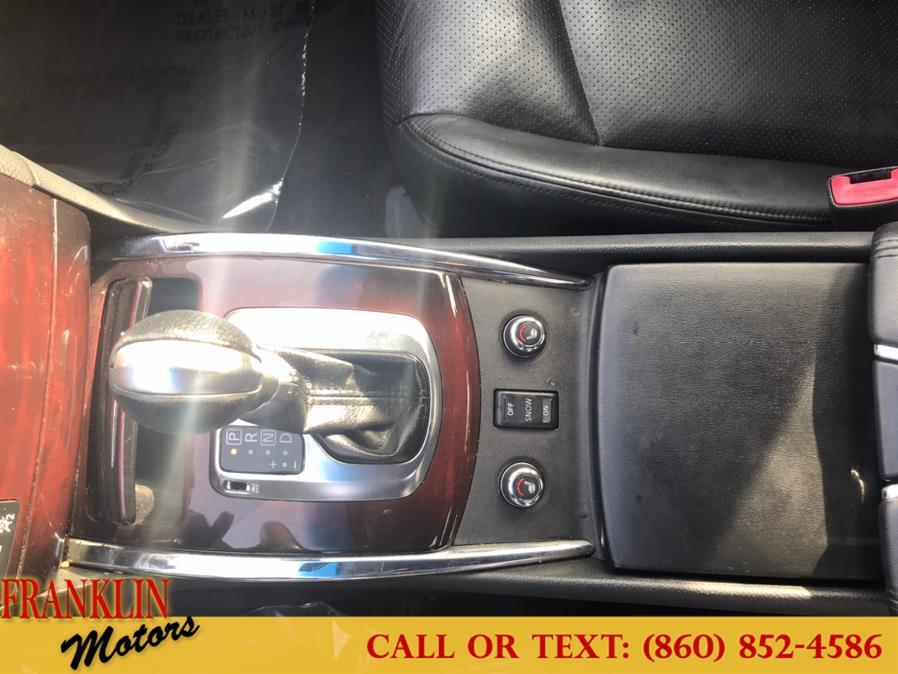 Used Infiniti G37 Sedan 4dr x AWD 2011 | Franklin Motors Auto Sales LLC. Hartford, Connecticut