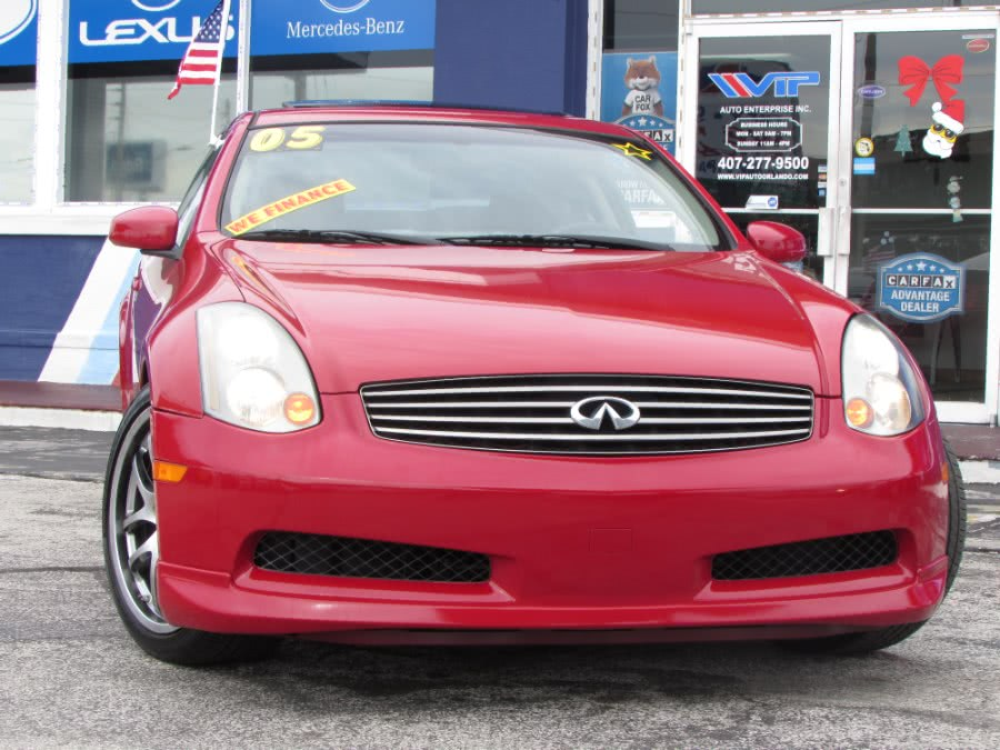 Used 2005 Infiniti G35 Coupe in Orlando, Florida | VIP Auto Enterprise, Inc. Orlando, Florida