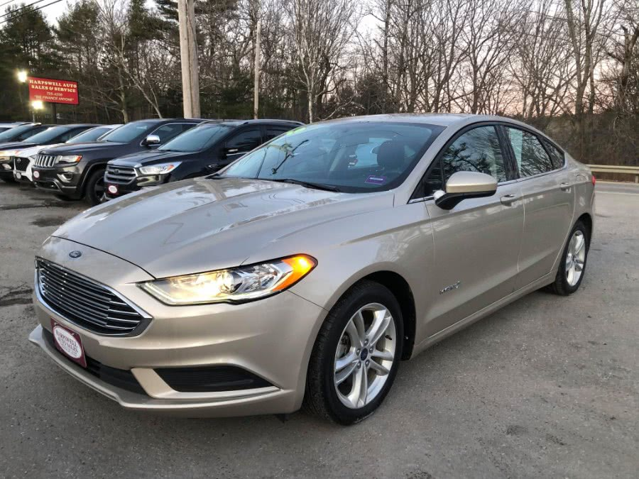 Used 2018 Ford Fusion Hybrid in Harpswell, Maine | Harpswell Auto Sales Inc. Harpswell, Maine