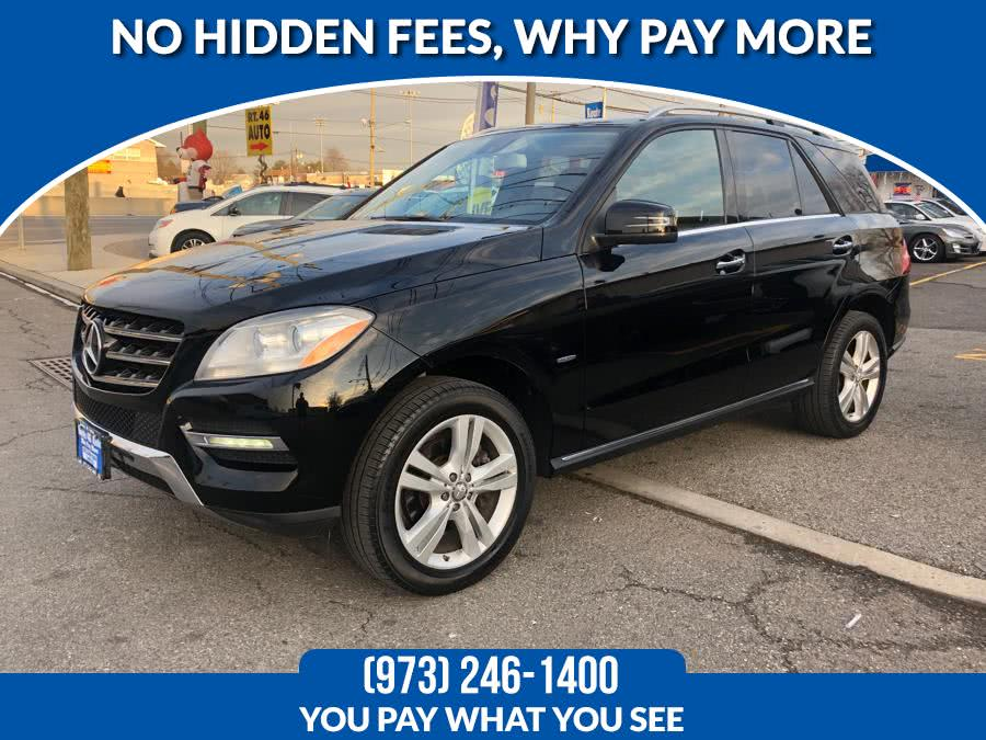 2012 Mercedes-Benz M-Class 4MATIC 4dr ML350, available for sale in Lodi, New Jersey | Route 46 Auto Sales Inc. Lodi, New Jersey