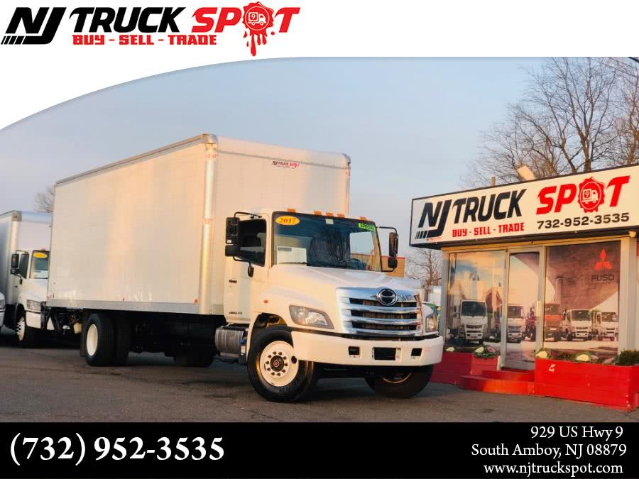 Used HINO 268A **FACTORY WARRANTY** 26 FEET DRY BOX + LIFT GATE + NO CDL 2017 | NJ Truck Spot. South Amboy, New Jersey