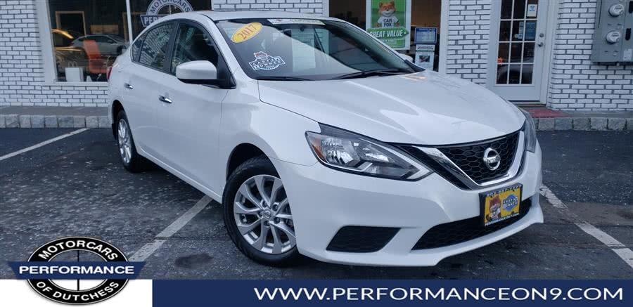 Used Nissan Sentra SV CVT 2017 | Performance Motorcars Inc. Wappingers Falls, New York
