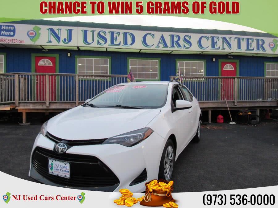 Used 2018 Toyota Corolla in Irvington, New Jersey | NJ Used Cars Center. Irvington, New Jersey