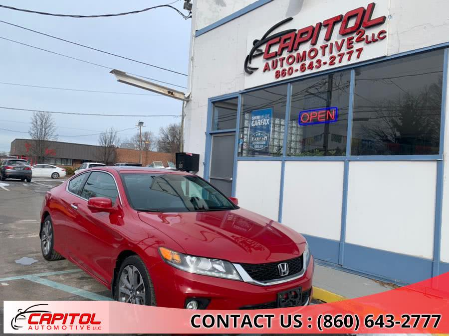 2014 Honda Accord Coupe 2dr V6 Auto EX-L, available for sale in Manchester, CT