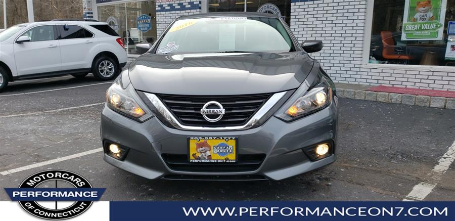 2016 Nissan Altima 4dr Sdn I4 2.5 SR, available for sale in Wilton, Connecticut | Performance Motor Cars. Wilton, Connecticut