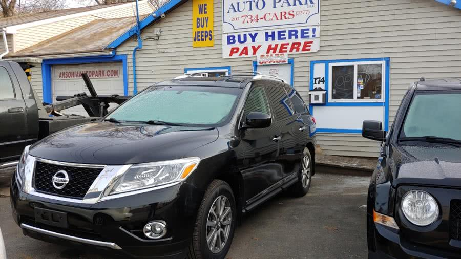 2015 Nissan Pathfinder 4WD 4dr SV, available for sale in Ansonia, CT