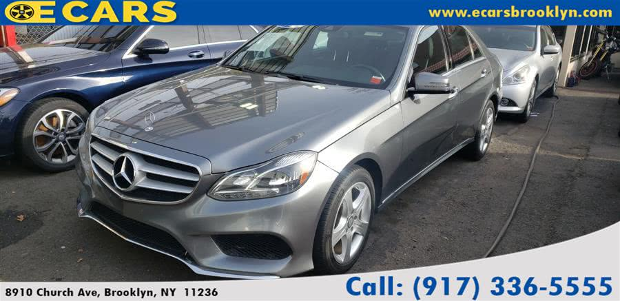 Used Mercedes-benz E-class 4dr Sdn E350 Sport 4MATIC 2016 | Car Citi. Jamaica, New York