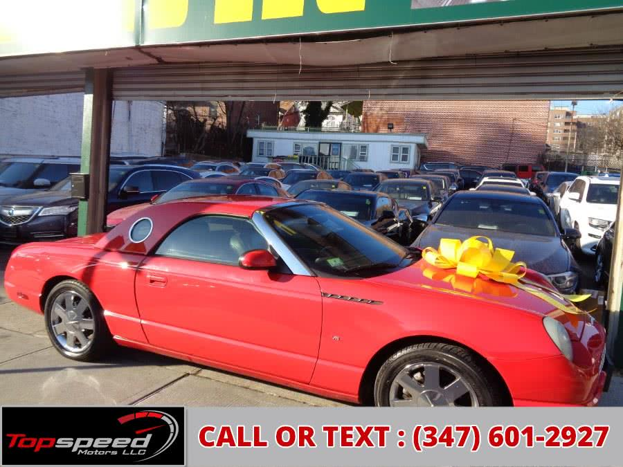 Used 2002 Ford Thunderbird in Jamaica, New York | Top Speed Motors LLC. Jamaica, New York
