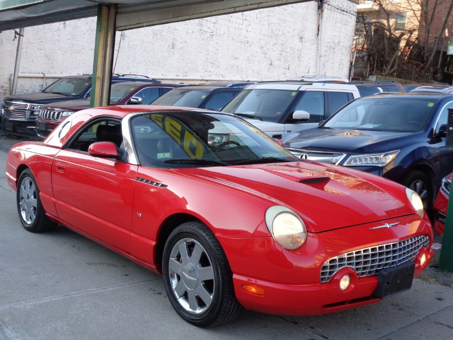 2002 Ford Thunderbird PREMIUM Conv w/Hardtop, available for sale in Jamaica, New York | Top Speed Motors LLC. Jamaica, New York