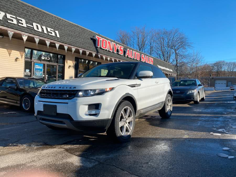 Used 2013 Land Rover Range Rover Evoque in Waterbury, Connecticut | Tony's Auto Sales. Waterbury, Connecticut