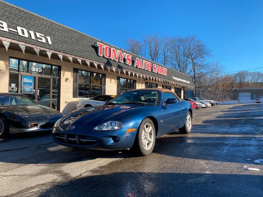Used Jaguar XK8 2dr Convertible 1997 | Tony's Auto Sales. Waterbury, Connecticut