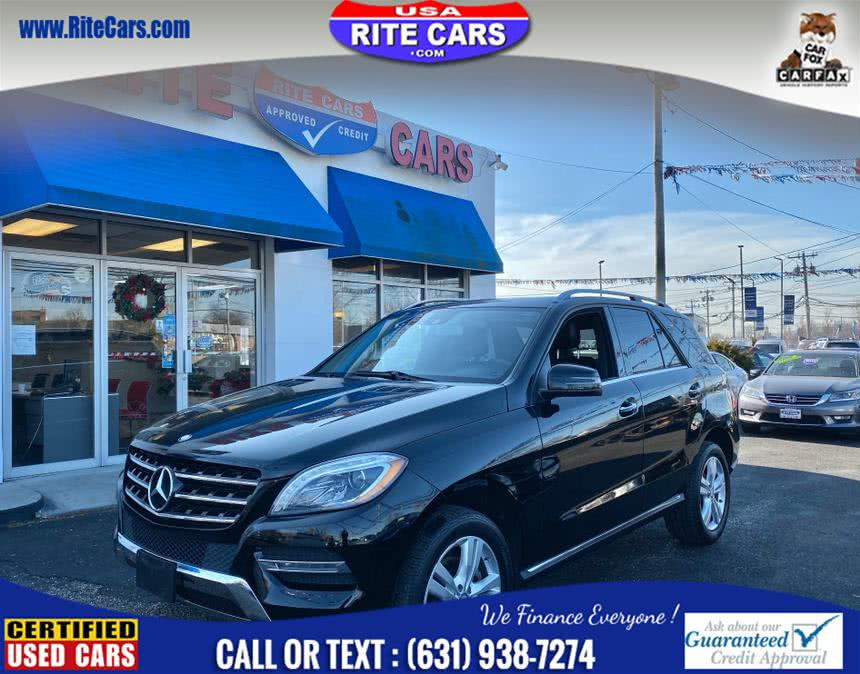 Used Mercedes-Benz M-Class 4MATIC 4dr ML350 2014 | Rite Cars, Inc. Lindenhurst, New York