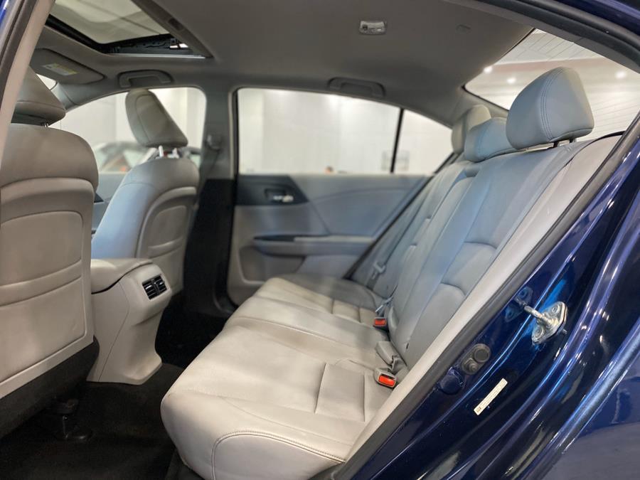 2014 Honda Accord Sedan 4dr I4 CVT EX-L, available for sale in Franklin Square, New York   Luxury Motor Club. Franklin Square, New York