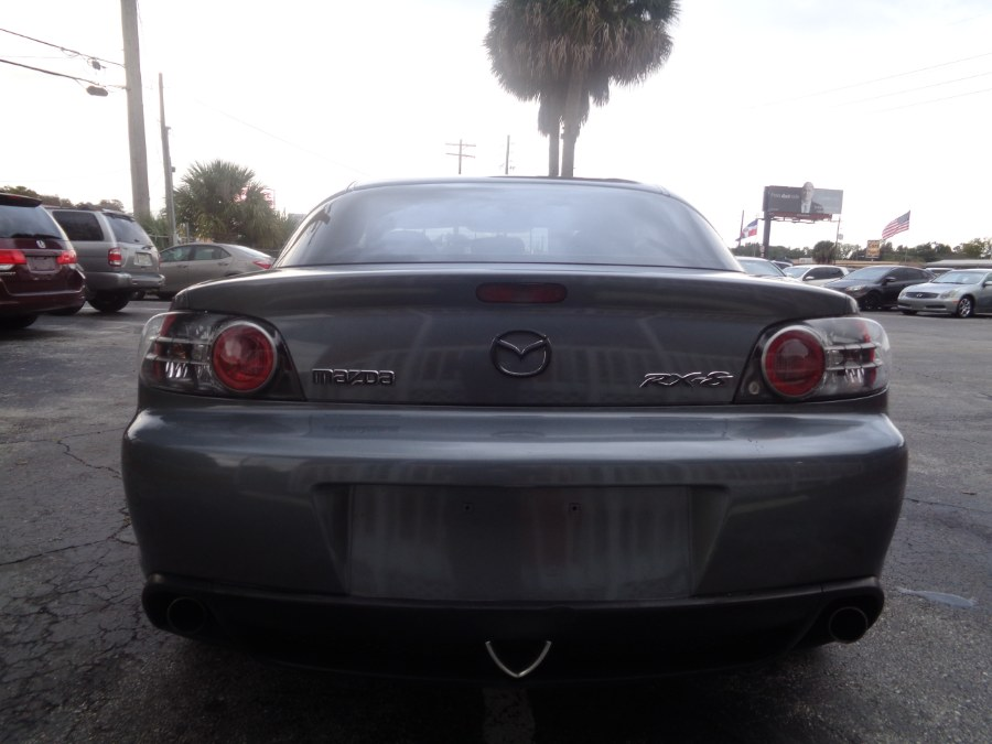2004 Mazda RX-8 4dr Cpe 6-Spd Manual, available for sale in Orlando, Florida   Rahib Motors. Orlando, Florida