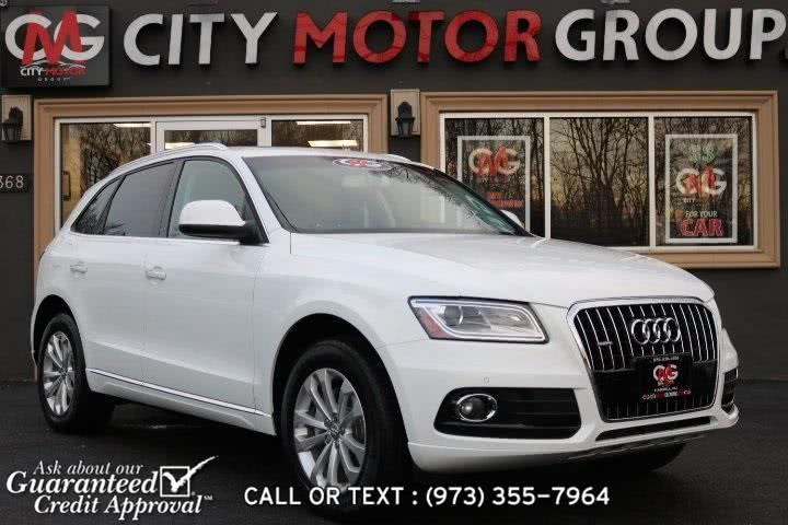 Used Audi Q5 2.0T Premium Plus 2015 | City Motor Group Inc.. Haskell, New Jersey