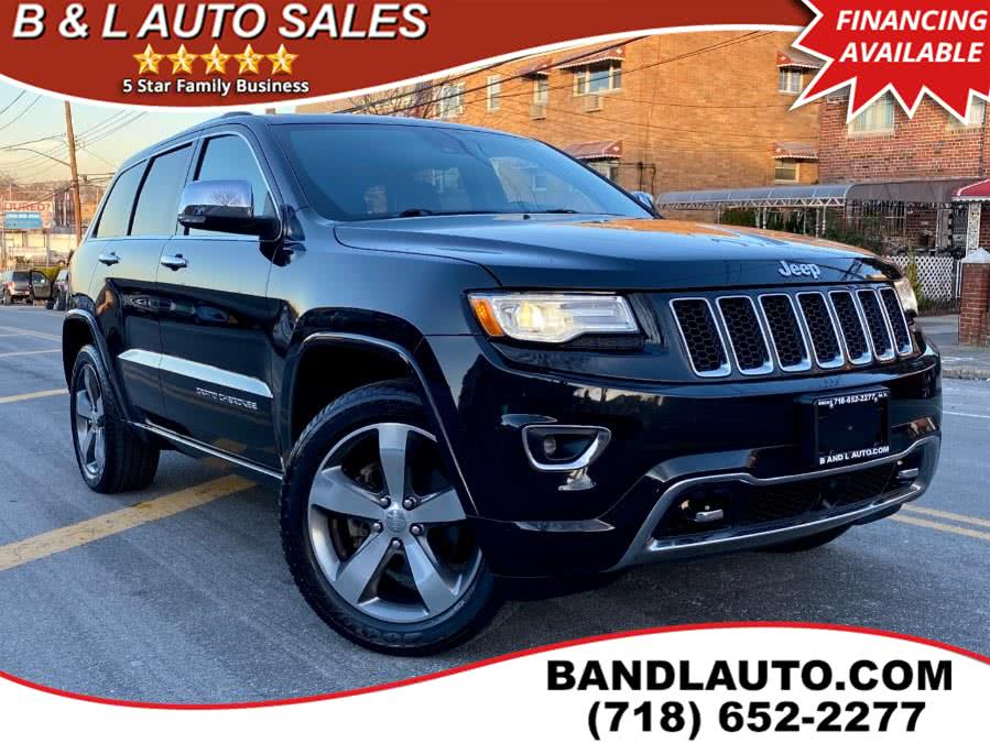 Used Jeep Grand Cherokee 4WD 4dr Overland 2015 | B & L Auto Sales LLC. Bronx, New York