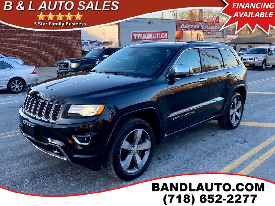 2015 Jeep Grand Cherokee 4WD 4dr Overland, available for sale in Bronx, New York | B & L Auto Sales LLC. Bronx, New York