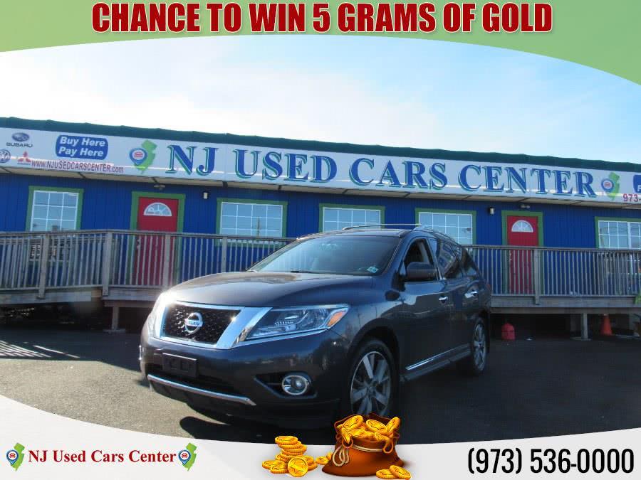Used 2014 Nissan Pathfinder in Irvington, New Jersey   NJ Used Cars Center. Irvington, New Jersey