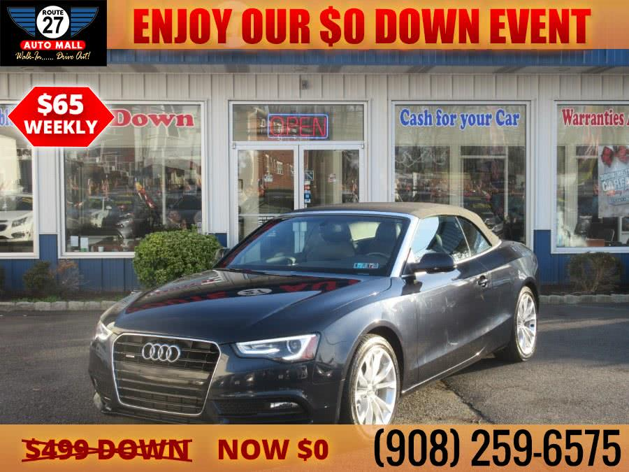 Used 2013 Audi A5 in Linden, New Jersey | Route 27 Auto Mall. Linden, New Jersey