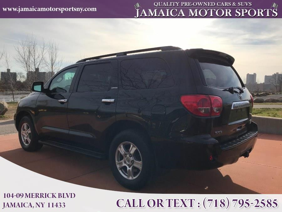 2008 Toyota Sequoia 4WD 4dr LV8 6-Spd AT Ltd, available for sale in Jamaica, New York | Jamaica Motor Sports . Jamaica, New York