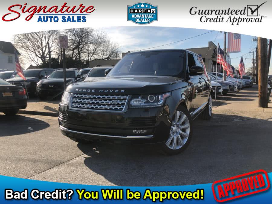 Used 2016 Land Rover Range Rover in Franklin Square, New York | Signature Auto Sales. Franklin Square, New York