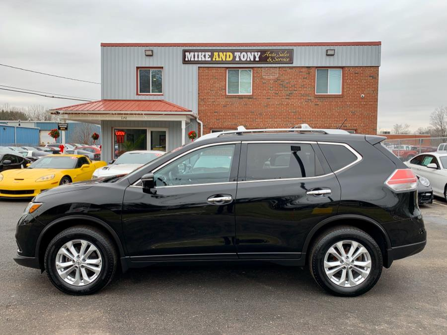 2015 Nissan Rogue AWD 4dr SL, available for sale in South Windsor, Connecticut | Mike And Tony Auto Sales, Inc. South Windsor, Connecticut